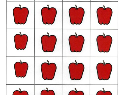 Speech and Language Activity: Ten Apples Up On Top
